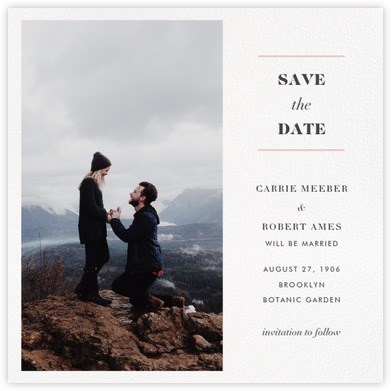 Online wedding save the date in Melbourne