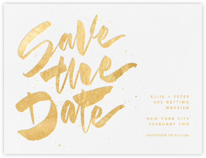 Save the date cards and templates Paperless Post – Save the Date Template
