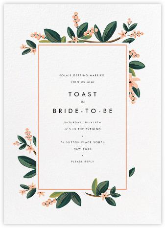 bridal shower invitations - paperless post, Wedding invitations