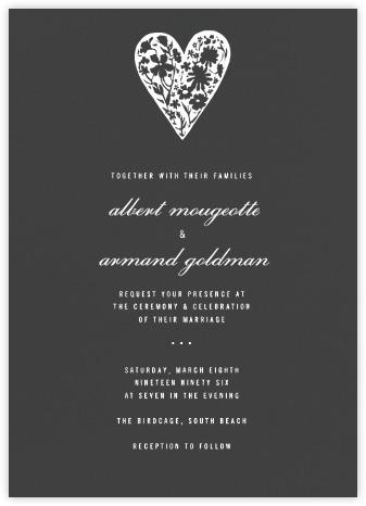 wedding invitations - paperless post, Wedding invitations