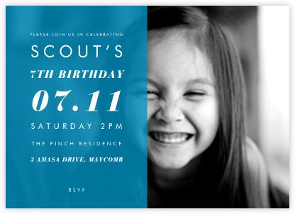 Photo Birthday Invitations gangcraftnet – Birthday Invitations with Photos