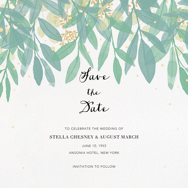 Save the date cards and templates Paperless Post – Wedding Save the Date Invites