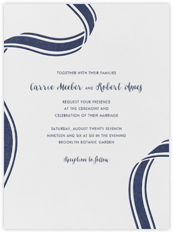 kate spade invitations, save the dates, and cards - paperless post, Wedding invitations