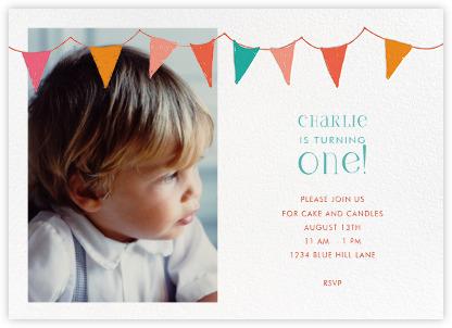 First birthday and baby birthday invitations Paperless Post – Baby Birthday Invite