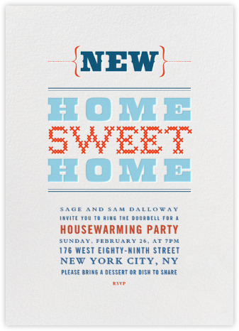 housewarming party invitations - online and paper - paperless post, Party invitations