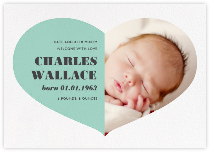 Birth announcements online and paper Paperless Post – Baby Announcement Template Free
