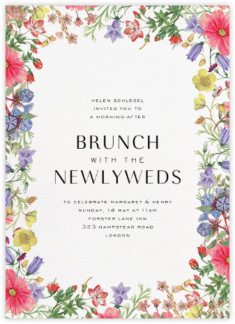 wedding brunch invitations - online and paper - paperless post, Wedding invitations