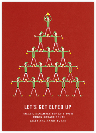 Paperless Post holiday e-card