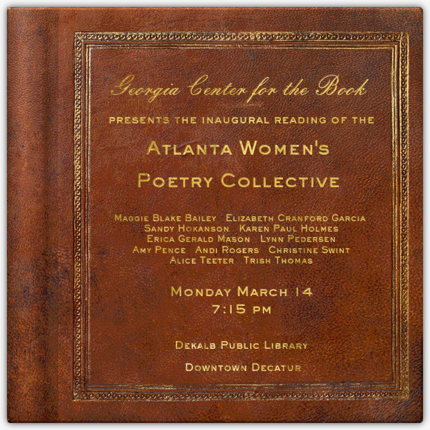 Enable images to view Atlanta Women's Poetry Collecive Reading